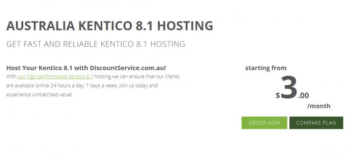Best Windows Hosting in Australia for Kentico 8.1 Price