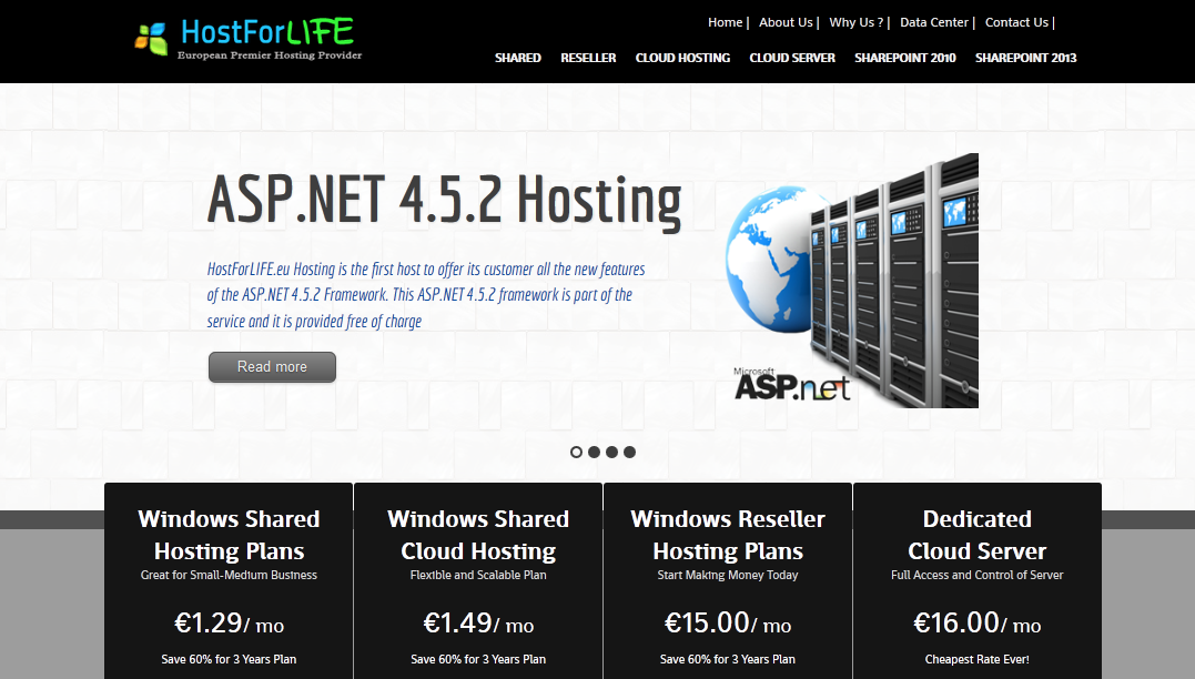 European Windows and ASP.NET Hosting