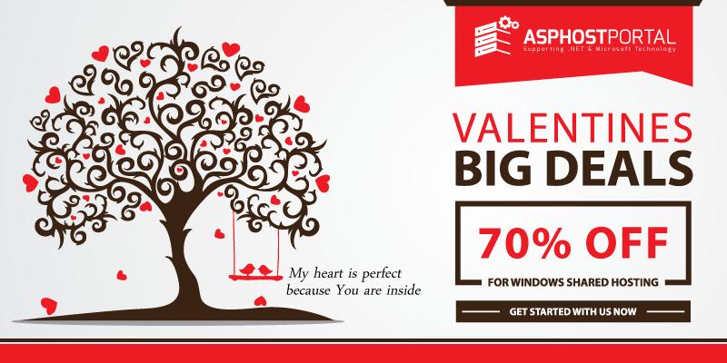 Best ASP.NET 5 Hosting – Valentine's Day Hosting Promotion
