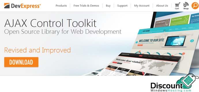 discountwindowshosting ajax control toolkit