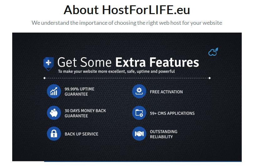 hostforlife extra