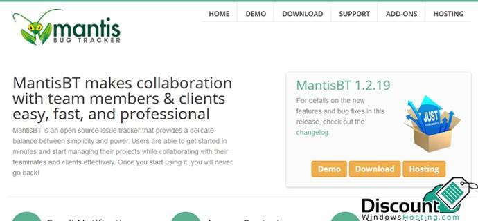 mantis 1.2.19 Hosting